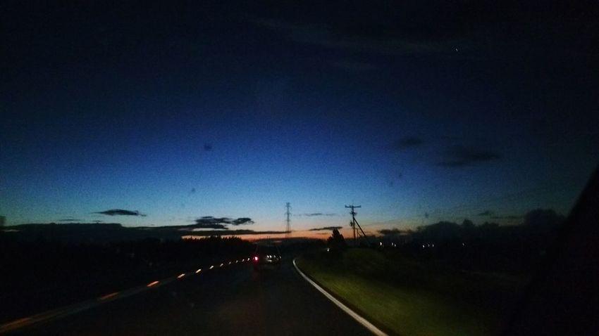 Night Sky Nature Illuminated Transportation Outdoors No People Star - Space