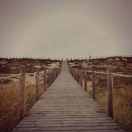 passadiços P10lite Huawei P10 Lite Sea Beach Clear Sky Pier Water Wood - Material Sky Horizon Over Water Landscape
