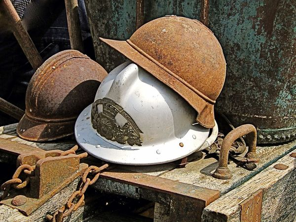 Casques Rouille Helmets Rust
