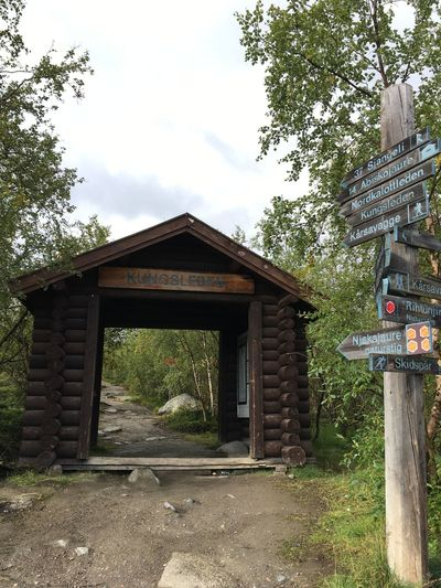 Abisko Nationalpark Hiking Kings Highway Kungsleden Lapland Lappland Starting A Trip Sweden Swedish Nature This Way Abisko Abiskojaure Arctic Circle Built Structure Hiking Adventures Hiking Trail Hikingadventures Hut Mountains Nature Outdoor Outdoors Sky Sweden Nature Trail
