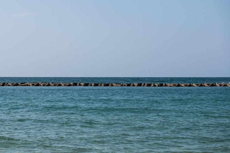Japan Photography ASIA Asian  Japan Japan Photography Meer Sea Wall Beach Breakwater Hagi Ocean Sea Summer