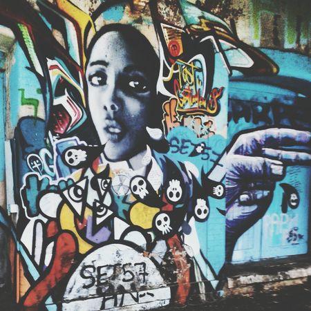 Graffiti Street Art Villefranche-sur-mer Tags
