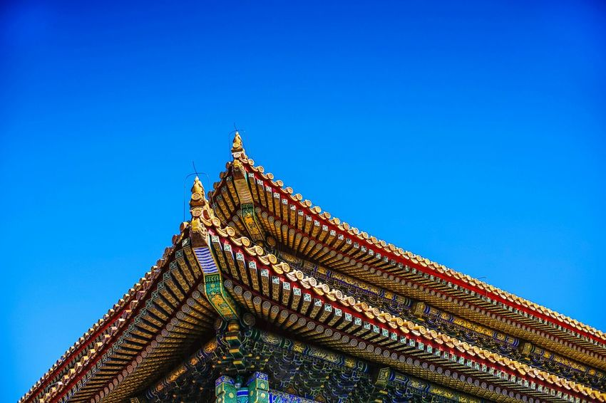 City Morning 北京 Beijing Street Beijing Forbidden City Day Outdoors China Architecture Traditional Art An Eye For Travel Colour Your Horizn The Architect - 2018 EyeEm Awards