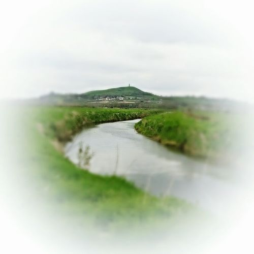 Landscapes Nature On Your Doorstep Focus Editing Relaxing Taking Photos Yeah Springtime! Somerset Levels Uk In All Its Glory Glastonbury Tor