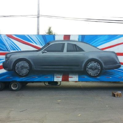 Mastrocola Spraypaint Truck Bentley redstarmovement