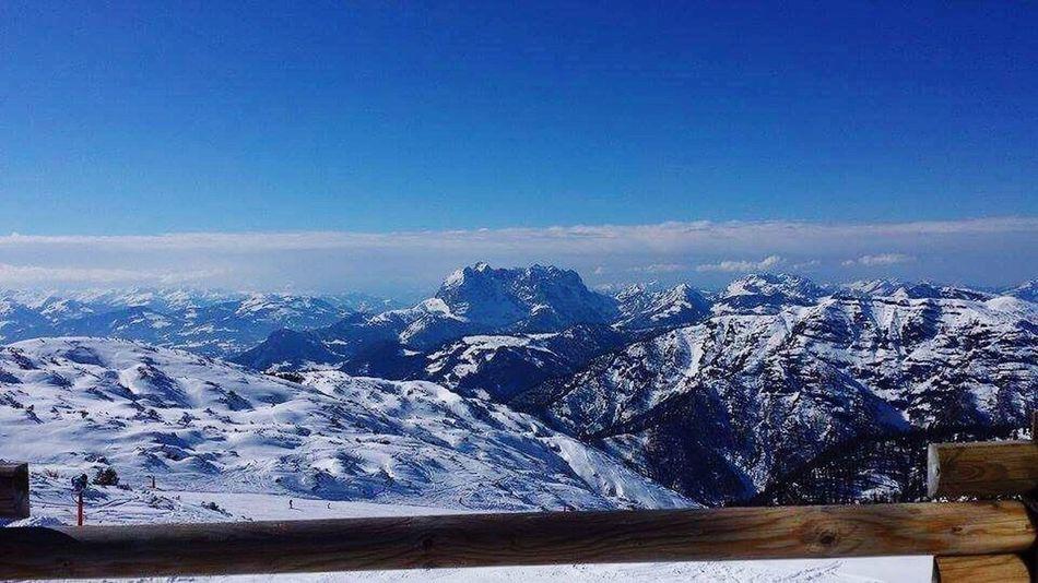 Amazing View from Mountain Snow Nature Enjoying Life Enjoying The View Austria 💖 Bestoftheday