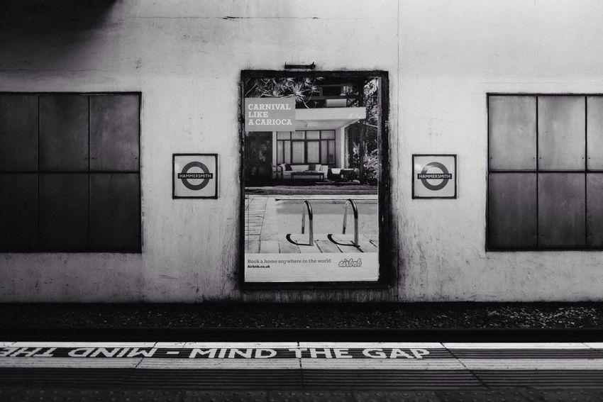 Hammersmith Tube Station Black And White London Taking Photos Black & White