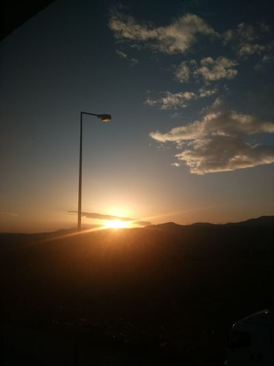Iyi Akşamlar EyeEm Best Shots Frist Eyeem Photos Güzel Memleketim Kütahyalı Kütahya Gunbatimi Gün Sonu Emet Sunset Silhouette No People Sport Flag Nature Sky Outdoors Golf Club Day Astronomy