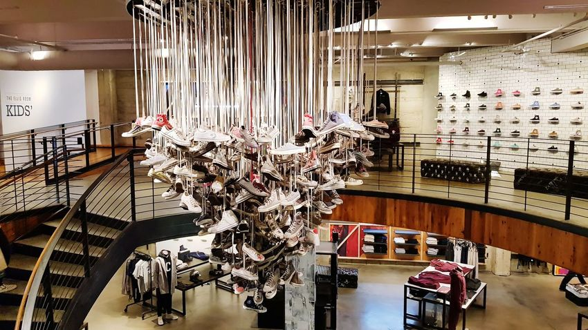 Converse Store, San Francisco Converse Trainers ❤ Indoors  Store Retail  Luxury Architecture No People Day Home Showcase Interior