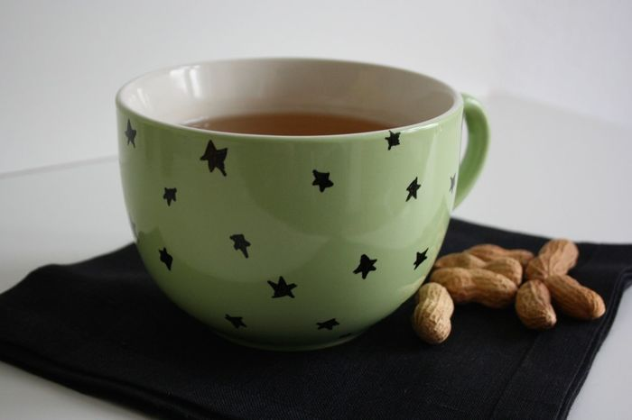 Christmas Close-up Cozy Cup Drink Food And Drink Hot Drink Indoors  Mug No People Non-alcoholic Beverage Peanuts Refreshment Relaxing Serving Size Star Still Life StillLifePhotography Table Tea Tea Cup Tea Time Weihnachten White Background Xmas Handmade For You
