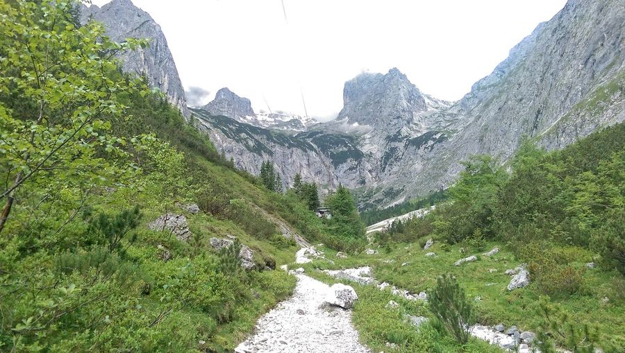 Alpen Beauty In Nature Mountain Mountain Peak Nature Outdoors Plant Sky