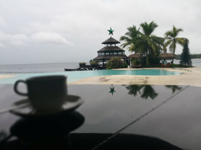 Vacation be like this.. Reflection Beach Sky Outdoors Water Refreshing :) Gloomy Weather
