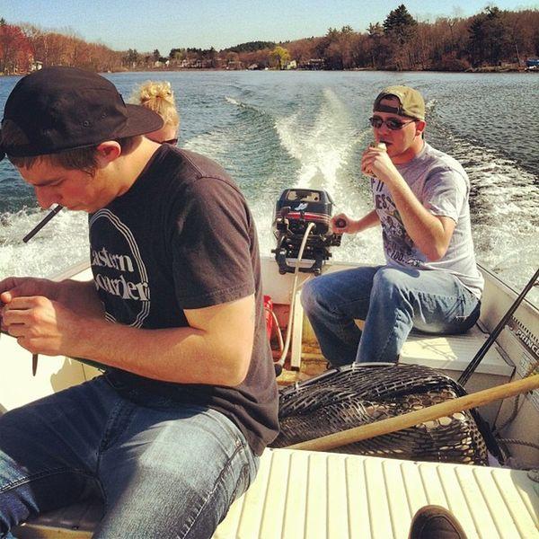 I'm on a boat mothafucker Boat Water Fishing Bassfishing Boat Lake Sunnyday Beautiful Blu Fish Beer Drinking Fun Warmday Cruisin Makinwakes Waves Bluesky Outside Sippin Boating Skinnyjeans Peeshy Beersontheboat @bassmaster320 @ferrismueller91