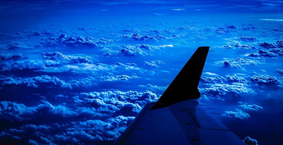 Dreaming Night Sky Dreaming Dreams Traveling Travel Photography Clouds Clouds And Sky Airplane Flight Illustration Blue Dark Weather