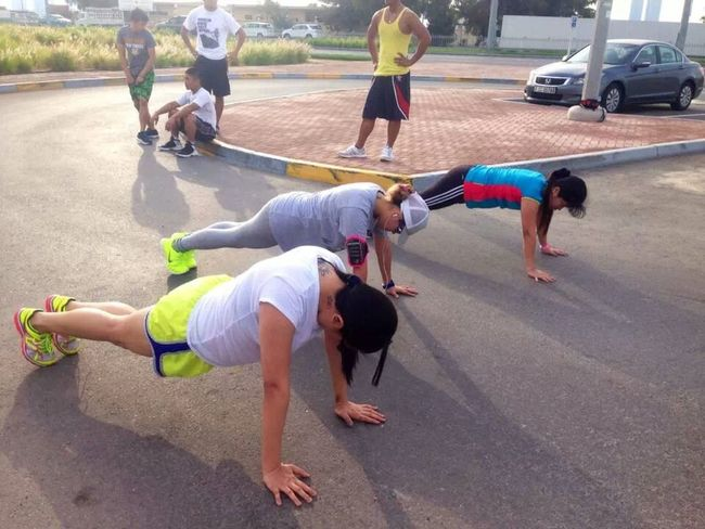 if we say push, we mean PUUUUUUUUUUUUSH! Missghie Workout