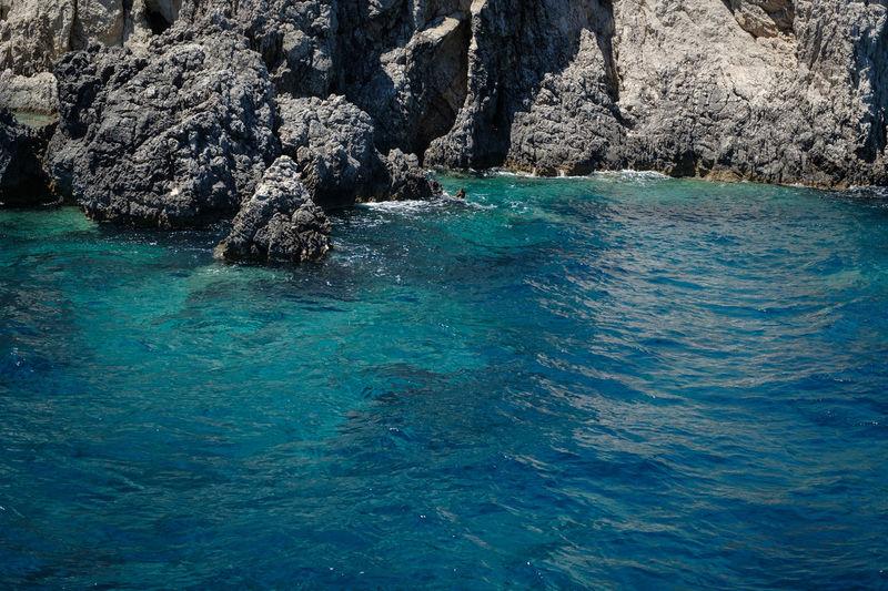 Mediterranean  Travel Photography Europe Eye4photography  Greece Ionian Island Nature Rock - Object Scenics Sea Travel Destinations Water