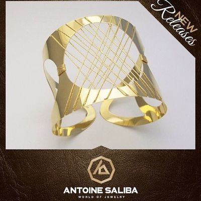 #fashion 18kt #gold #bracelet #classy #elegant #jewelry #beirut #byblos #lebanon #antoinesaliba Byblos Beirut Elegant Fashion Gold Lebanon Jewelry Bracelet Classy Antoinesaliba