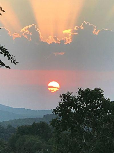 Nice sunset !