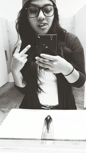 Selfie ✌ Blackandwhite
