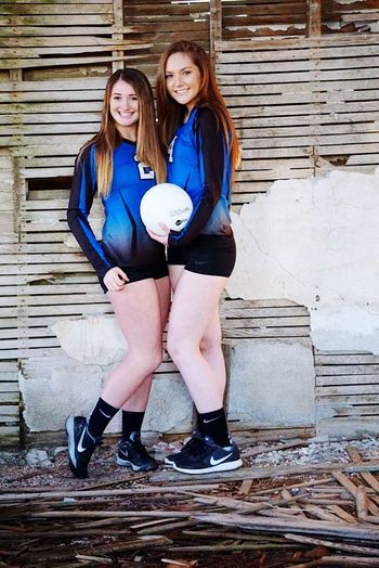 It the 2 Kaylas 2016♡ Go Cats Volleyball Varsity  Comming At You Washington State Eastern Washington