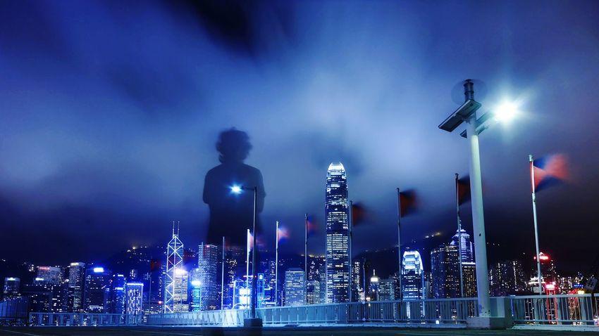 wind way. Hong Kong Discoverhongkong Nightphotography Mobile Photography Leica DMC_CM1 Long Exposure Clouds Wind Tsim Sha Tsui 尖沙咀