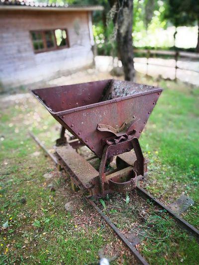 Rusty Minecart