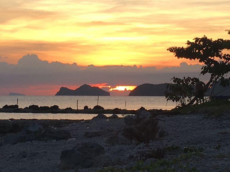 Thiland Phangan island🇹🇭 Sunset Thiland Phantasialand