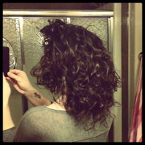 Allnatural Curls Whitegirlfro Natural curls curly hair brunette