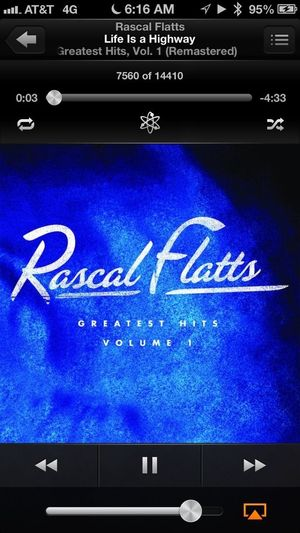 Road Trip! Rascal Flatts What Are You Listening To? Life Is A Highway