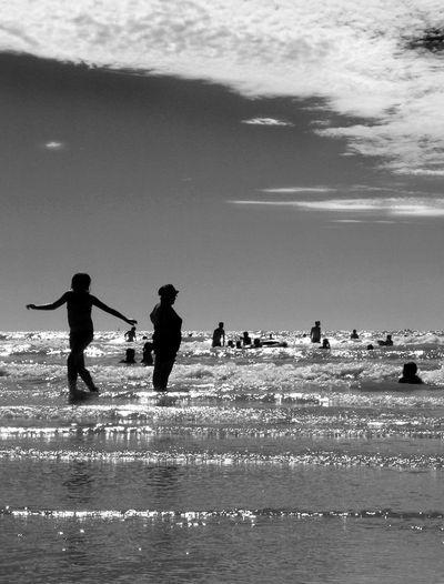 Bather's Beach Bathers Beach Beach Day Beach Life Beach Time French Beach Frenchgirl Sea And Sky Seascape Seaside