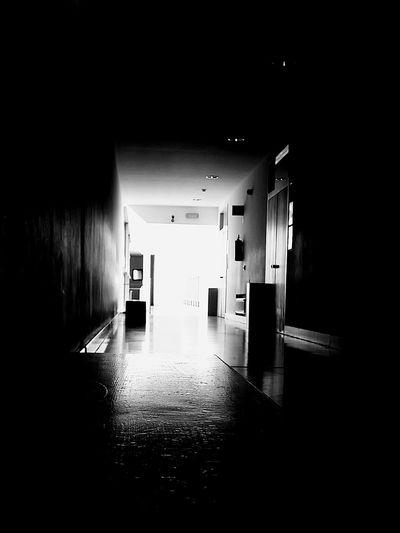 A luz ao fundo do túnel. First Eyeem Photo