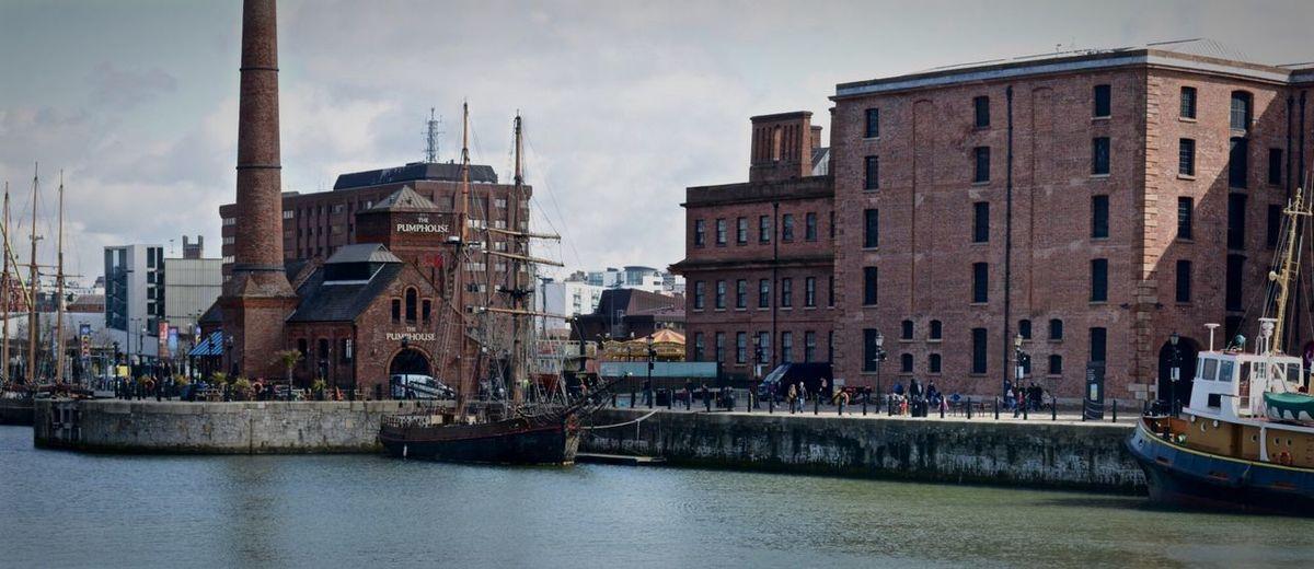 Albert docks Liverpool Hello World Panorama History