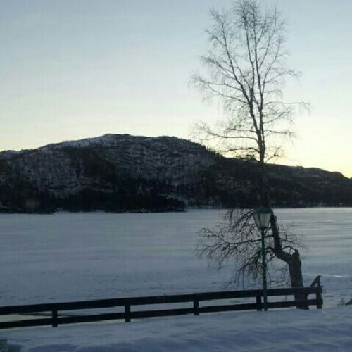 Noeditsaturday Travel Mytravelgram Bestoftheday bestshooter travelingram Norway Eikedalen Kvamskogen winter snow sunrise. Minus 10 degrees Celsius this morning.