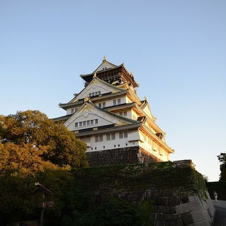 Japan OSAKA 大阪城 Architecture building