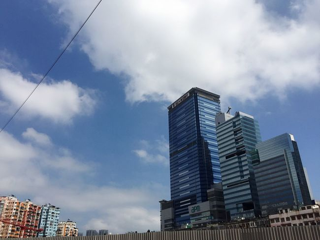 Architecture Building Exterior Built Structure Skyscraper Modern Sky Low Angle View City Day Outdoors Cloud - Sky No People Cityscape
