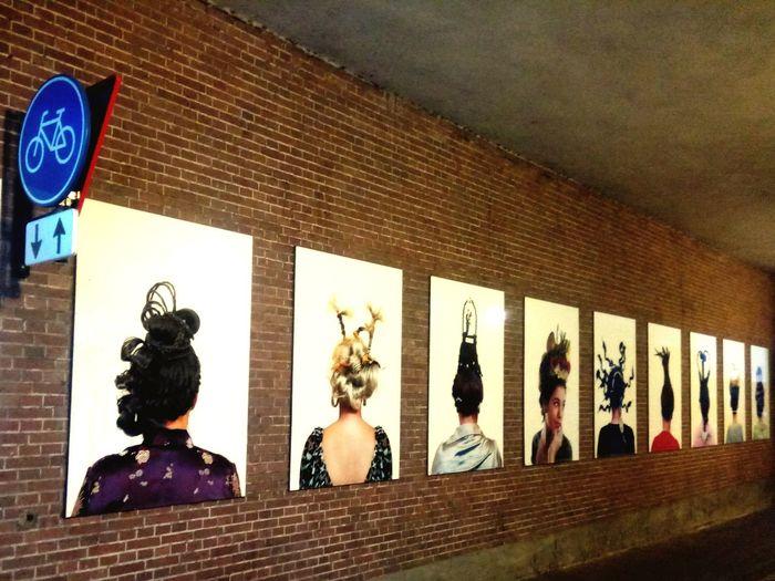 Amsterdam Streetphotography Street Hair Hairstyle Women Womenfashion Statue Sculpture Human Representation Architecture