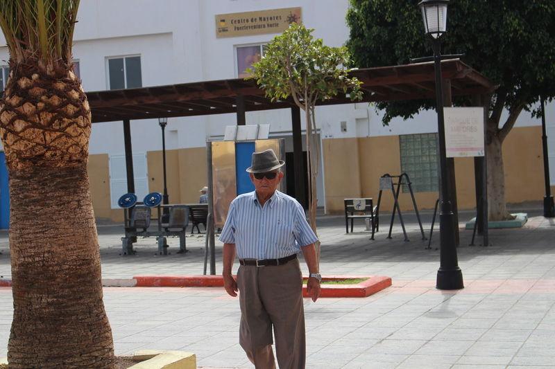 Man Walking Old Man Old Man Walking SPAIN Spanish Unrecognizable Person