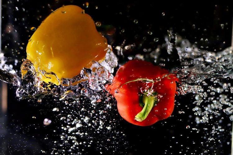 red yellow Food
