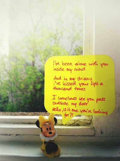 Happy wednesday :-) Lemon By Motorola Eye4photography  Song Lyrics Minimouse Mini Mouse The World Needs More Yellow Cheese!