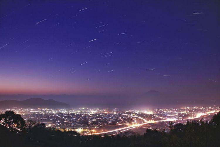 今年も宜しくお願いします。 初撮り。鹿児島県姶良市加治木町高岡公園より Before Sunset Firstpicture2016 Happynewyear2016 Kagoshima Japan Landscape Nature Canon January1st January2016 Showcase: January Night Lights Ultimate Japan The City Light