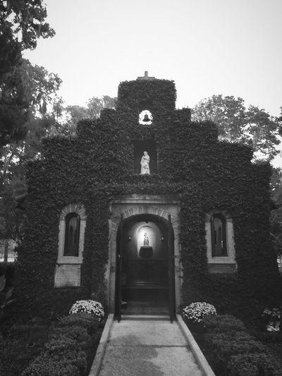 Blackandwhite Our Lady Of La Leche Shrine