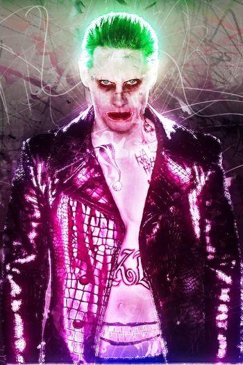 Mister J Joker Jared Leto SuicideSquad Digital Art Originalwork Thejoker MisterJ Hahaha Thejokerlook Photomanipulation Harleyquinn