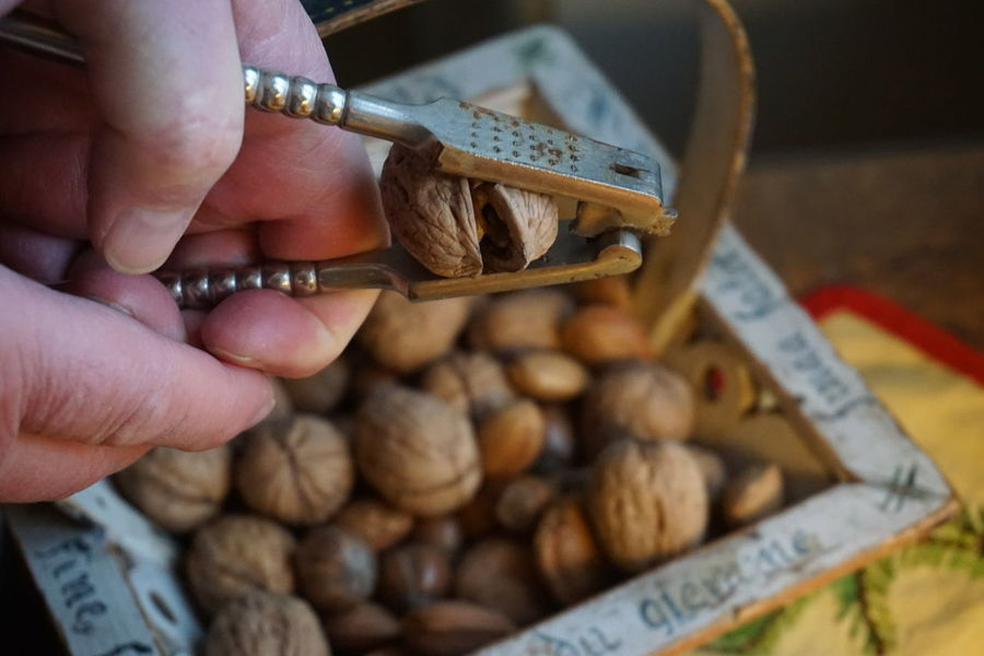 nut cracking Hygge Crack Cracked Cracks Hand Human Body Part Human Hand Nut Nuts Christmas Christmas Food Food Healthy Eating Nut Cracker Nut Cracking Nutcracker One Person Human Body Part Food People Human Hand Food And Drink Sweet Food Lifestyles Adults Only Indoors  Adult Close-up