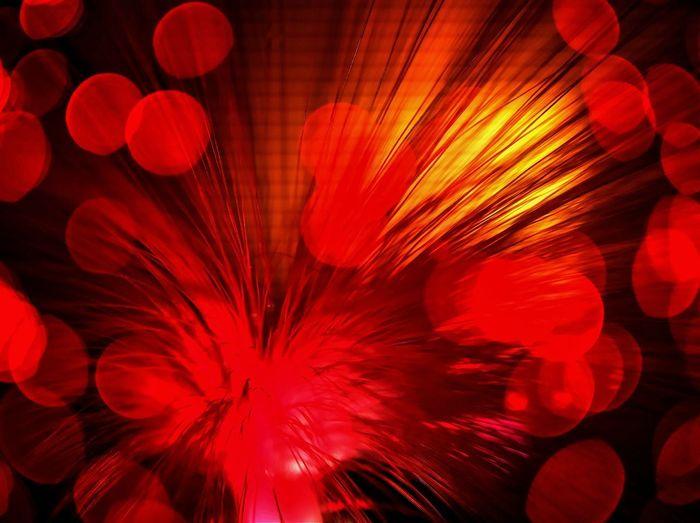 Full frame shot of red light painting