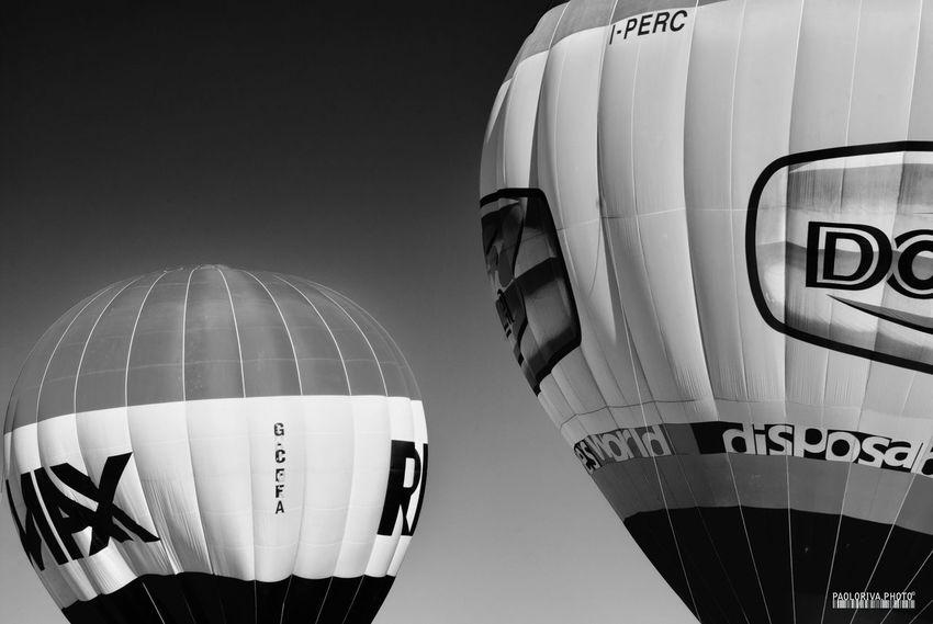 Air Show Balloons Blackandwhite Mongolfière Monochrome Monochrome Photography Sky Skyscraper