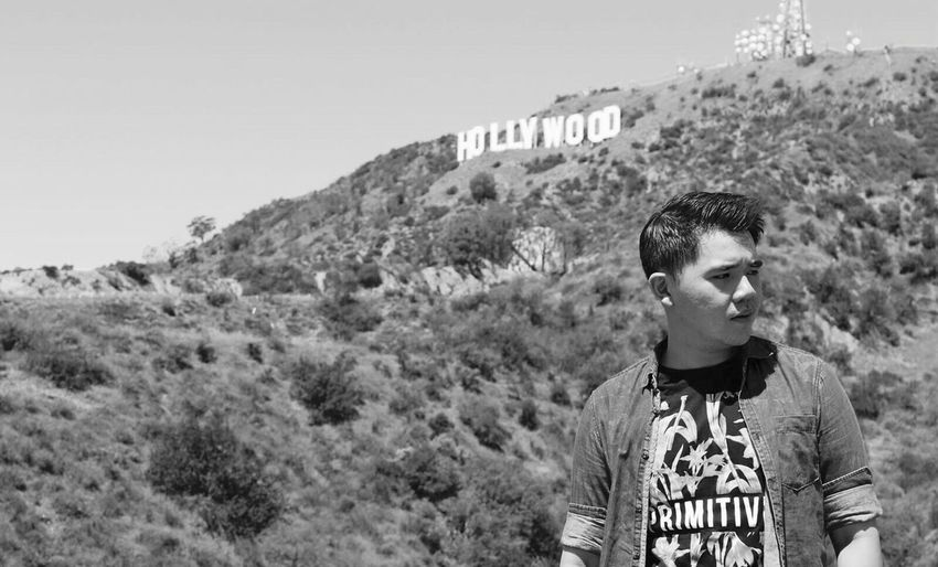 Up Close Street Photography Hollywood Hollywood Sign Losangeles California Losangelescalifornia