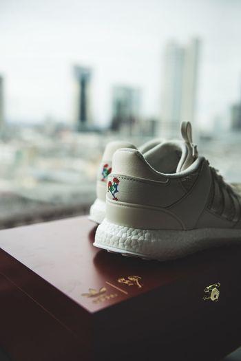 Close up of shoe