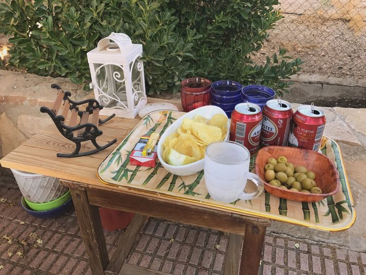 Mediterráneamente Plate Table Food And Drink Food No People Healthy Eating Fruit Bowl Breakfast Day Outdoors Freshness Ready-to-eat