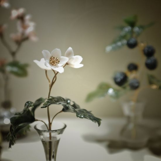 Made of Stone Craft Art Stonemade X100f Fujifilm Russia Yekaterinburg Flower Vulnerability  Fragility Focus On Foreground Close-up No People Indoors