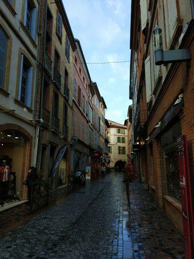 Carrer Cases Arquitecture Montauban,tarnetgaronne,France France Montauban Street Sky Outdoors